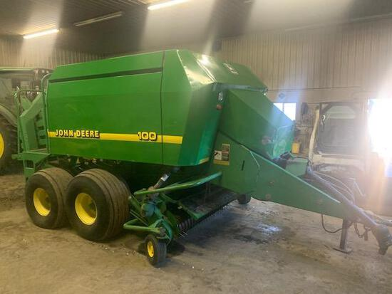 "1998 JD 100 Large Square Baler, 1- /8"" 1000 CV PTO"