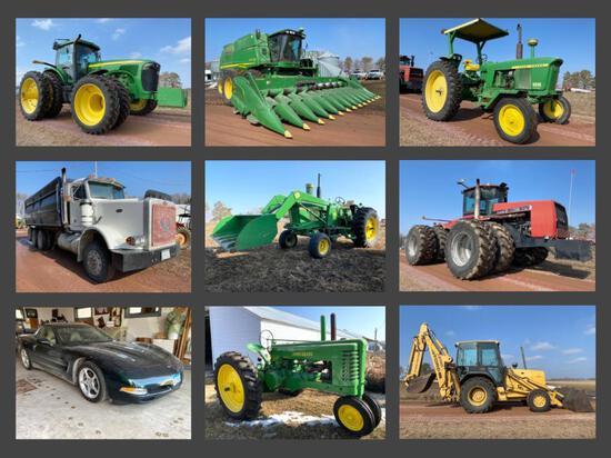 JUNIOR FENNERN FARM EQUIPMENT ESTATE AUCTION