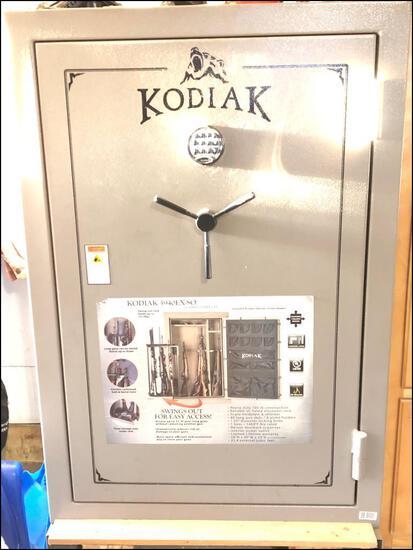 """Kodiak 5940EX-S0 Gun Safe, 40 Long Gun, 8 Pistol Capacity, 59""""High, 40"""" Wide, 23"""" Deep,"""