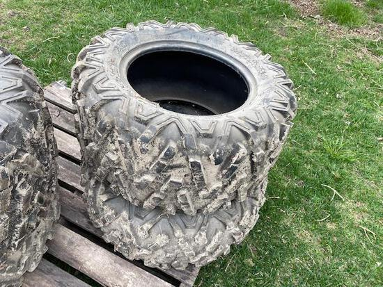 Maxxis Big Horn Tires 27-11.00R14 and 27-9.00R14, One money for all tires.