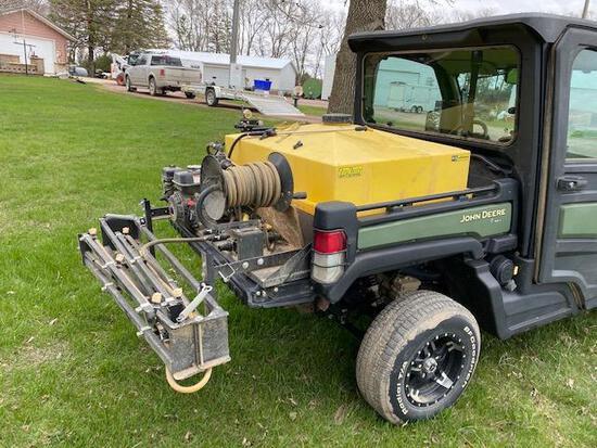 Tru-Kleen 100 Gallon Poly Tank, UTV Sprayer, Honda GX120 with