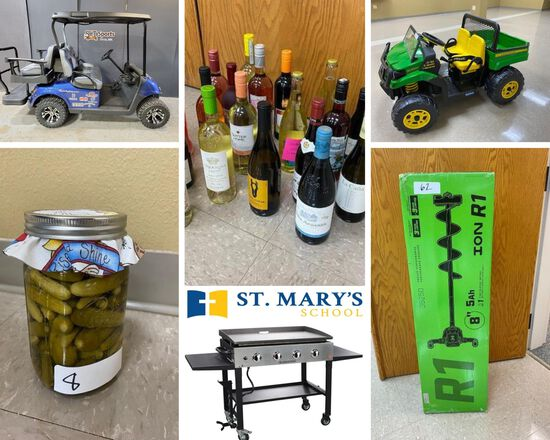 ST. MARY'S SCHOOL ONLINE ANNUAL FUNDRAISING