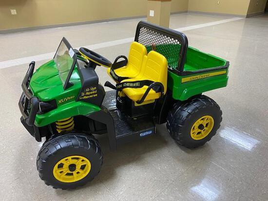 12 volt Children's John Deere Gator Donated by Keeghan & Ella Aeikens & Kibble Equipment Parts