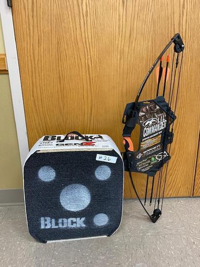 Lil' Commander Junior Archery Set and Block Target Donated by Steve & Summer O'Neill