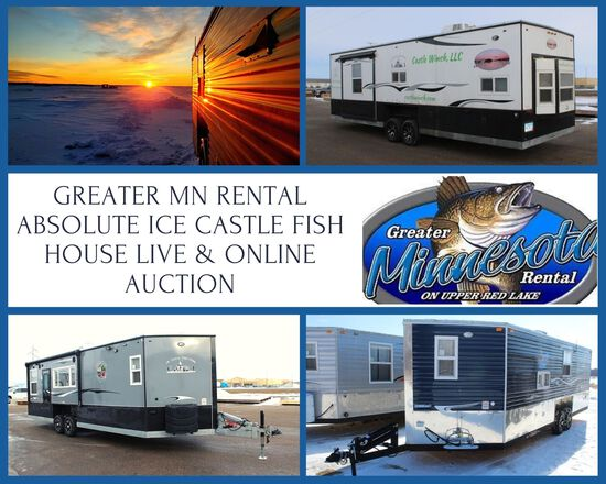 Greater Mn Rental-Absolute Ice Castle Fish House