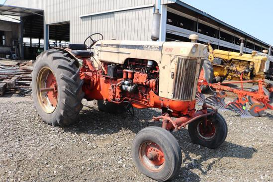 CASE 830 CASE-O-MATIC, WF, CRACKED BLOCK, DIESEL, EAGLE HITCH, PTO, FENDERS, SN 8223051,