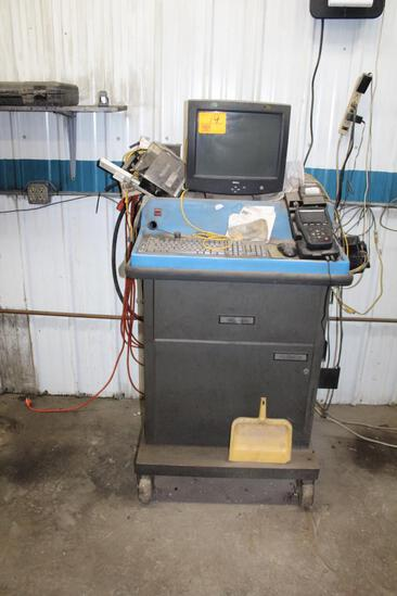 Chrysler Analyzer on Cart with Monitor