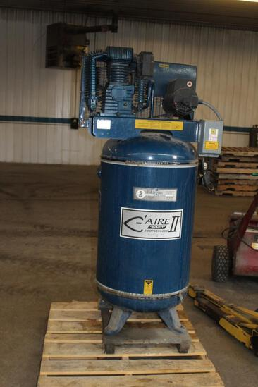C'aire II Model CT580V282 80gal Upright Air Compressor, 220V