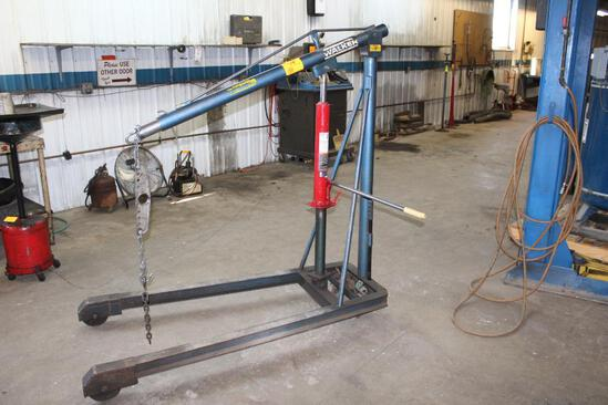 Walker J-815 Engine Hoist, 8T Jack