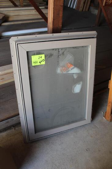 "WINDOW APPROX 35""H 27""W"