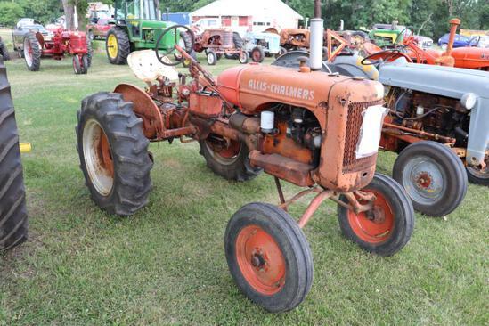 1948 AC B, WF, 11.2-24?s, PTO, 1 Hyd, Fenders, Rear Wheel Weights,