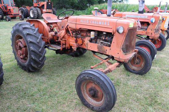 Allis Chalmers D14?, 14.9x26 Pwr Slides, Gas, 1 Snap Coupler, 1 Hyd, Pto, 7786 Hrs, Fenders, Lights,