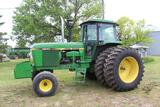 1980 JOHN DEERE 4640 2WD TRACTOR, POWERSHIFT, 2 SCV, 3PT, QUICK HITCH, LARGE 1000 PTO,