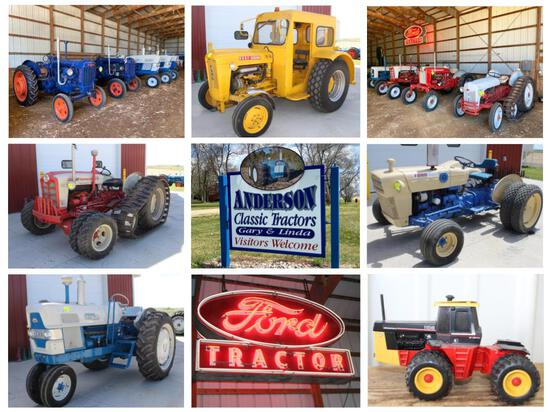 GARY ANDERSON ESTATE LIFETIME FORD COLLECTION;