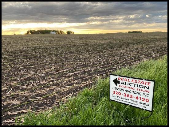189.65 Acres of Prime Renville Co. Farm Land Located in Section 34, Preston Lake Twp, Renville Co.