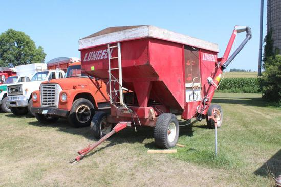 Lundell 1290 Gravity Box, Approx 220 Bu, 2 Compartment,
