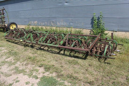 JD Rotary Hoe, Approx 18', 3Pt
