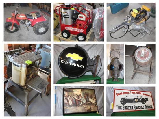 ABSOLUTE ONLINE ONLY AUCTION - MULTIPLE LOCATIONS