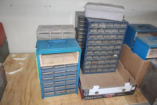 STORAGE CABINETS, VARIOUS SIZES
