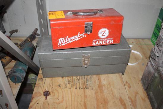 (2) METAL BOXES