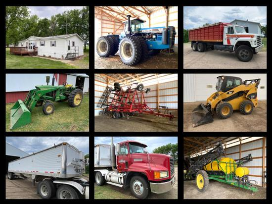 BRADLEY PETERSON ESTATE; FARM EQUIPMENT AUCTION