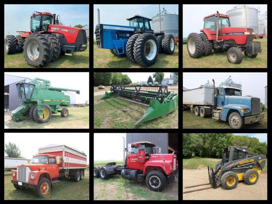 NOLAN JUNGCLAUS FARM EQUIPMENT RETIREMENT AUCTION