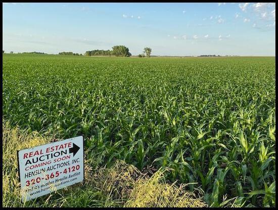 40 acres +/- of Prime Kandiyohi Co. Farm Land