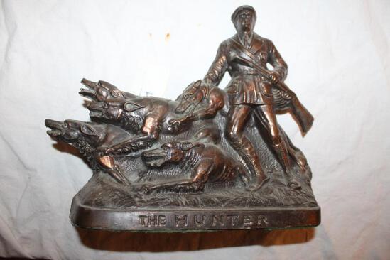 """""""The Hunter"""" Sculpture, 10""""x10"""""""