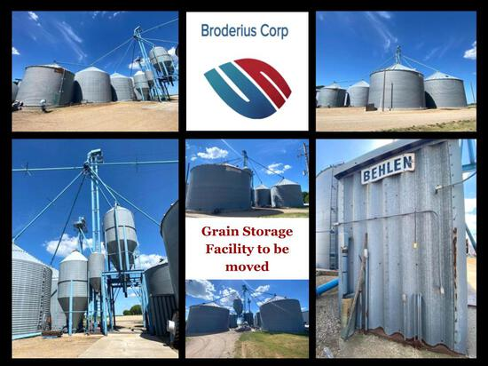 BRODERIUS CORP ABSOLUTE TIMED ONLINE ONLY AUCTION