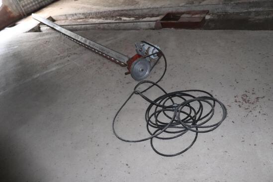 Bin Sweep, with 3ph Motor, used in 34' Bin