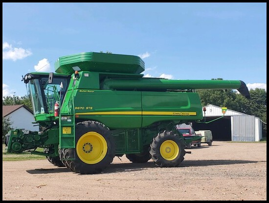Tom Anderson Estate Farm Equipment Auction