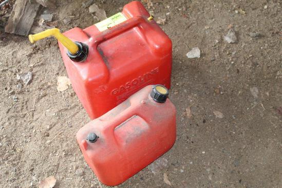 2 & 5 GALLON GAS CANS