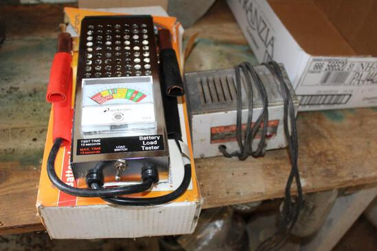 BATTERY TESTER/LOAD TESTER, TRICKLE CHARGER