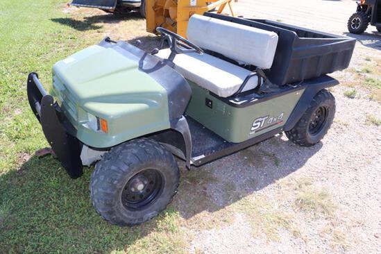 *** 2005 E-Z Go 4x4 Utility Cart, Honda Gas Engine, Full Lockup 4x4