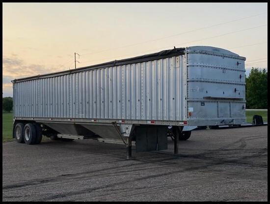 "****1984 Wilson CH-100 Commodity Hopper Trailer, Tandem Axle 43'x102""x84"","