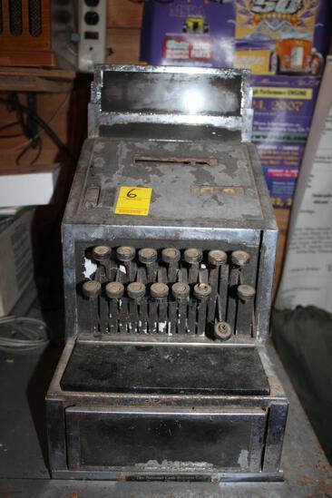 National Small Antique Cash Register