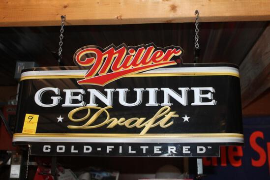 "Approx 12""x24"" Miller Genuine Draft Light"