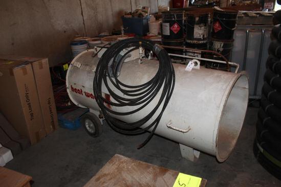 Heat Wagon Model 273007 Propane Heater, 2000000 BTU, 240V Motor, Single Phase