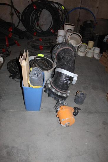 """10"""" Elbow with Power Gate Valve, Gaskets"""