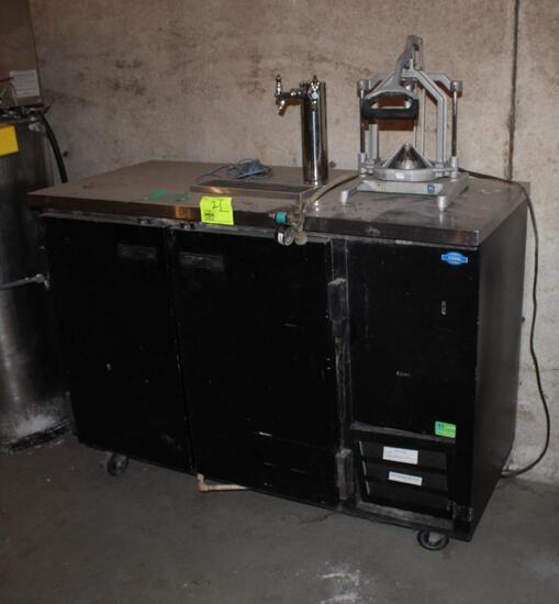 Portable Keg Cooler/Dispenser, Not Tested