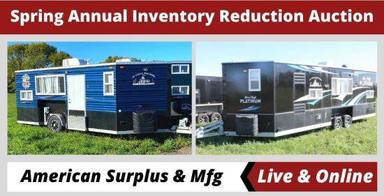 American Surplus & Mfg Large Annual Inventory