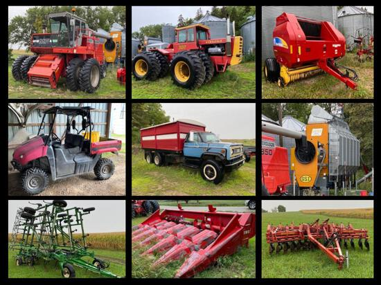 Peterson Farm, Hay & Livestock Equipment Auction