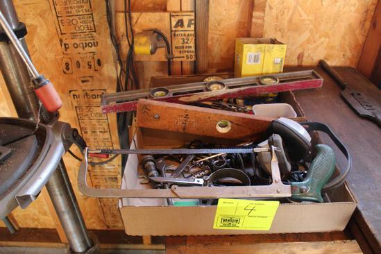 ALLEN WRENCHES, HACK SAW, SOLDER GUNS, LEVELS AND MORE