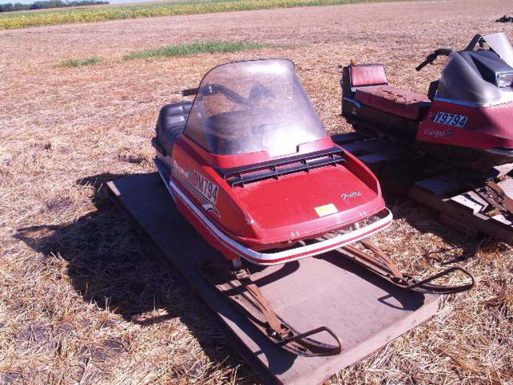 Lot: CHAPARRAL FIREBIRD SNOWMOBILE, LOW MILES, BOUGHT NEW
