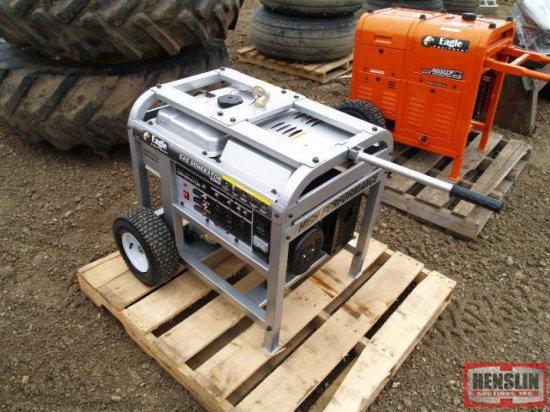 NEW EAGLE 8500 WATT GAS POWERED INDUSTRIAL GENERATOR, TAX