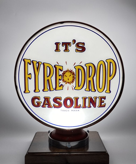 "It's Fyre Drop Gasoline 15"" Single Lens Globe Body"