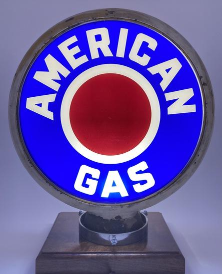 "American Gas Complete Globe Body 15"" Lenses"