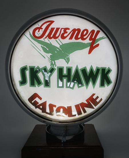 "Update Sweney Sky Hawk Gasoline Globe Body 15"" Lens"