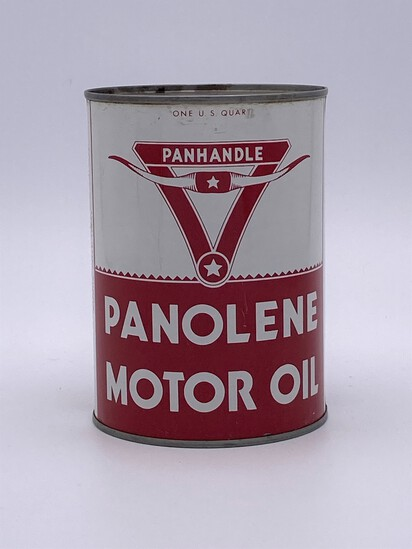 Panhandle Panolene Motor Oil 1 Quart Can TAC 8.75