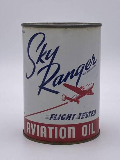 Sky Ranger Aviation Oil 1 Quart Metal Can TAC 9